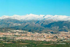 La vega de Granada, Granada y Sierra Nevada