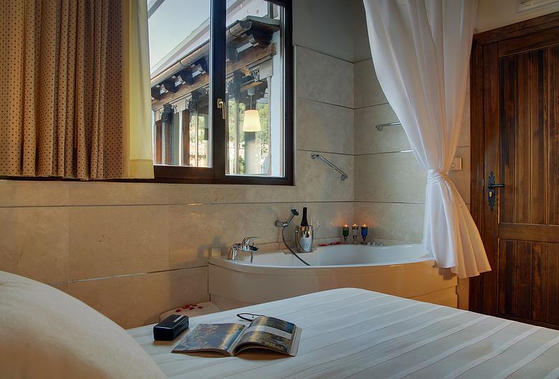 suite premium con jacuzzi
